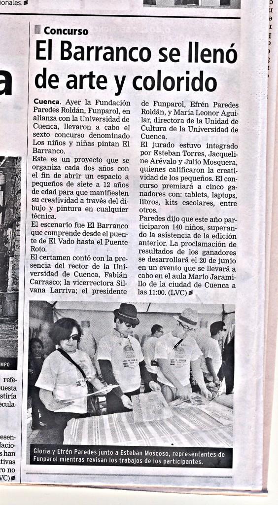 EL TIEMPO JUNIO 09